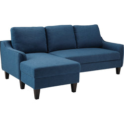Regeena Queen Chaise Sofa Bed - Blue