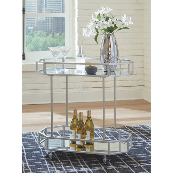 Kadinburg  Bar Unit - Silver Finish