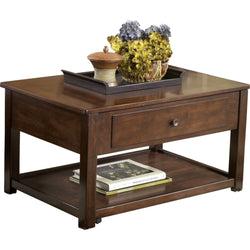 Marion Coffee Table - Dark Brown