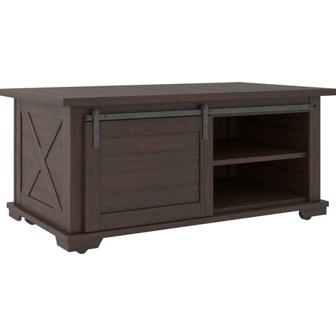 Camiburg Coffee Table - Warm Brown