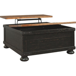 Kendell Coffee Table - Black/Brown