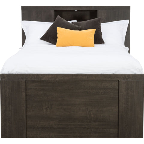 Morgan 4 Piece Queen Bed with Storage - Anthracite