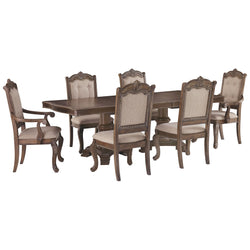 Charmond 7 Piece Dining Room - Brown