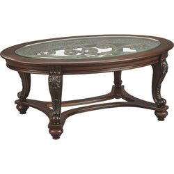Norcastle Coffee Table - Dark Brown