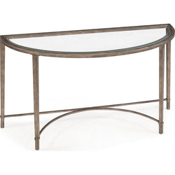Copia Sofa Table - Antique Silver