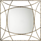 Keita Mirror - Black/Gold Finish