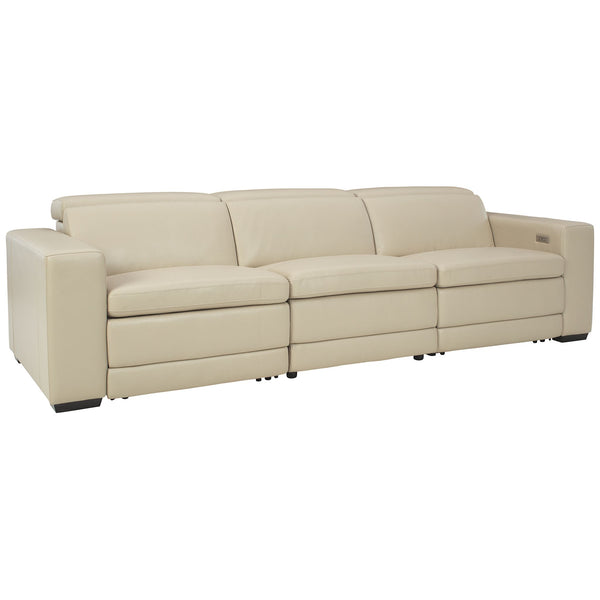 Texline 3 Piece Reclining Sectional - Sand