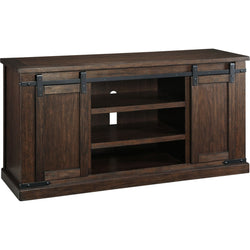Budmore  Large TV Stand - Rustic Brown