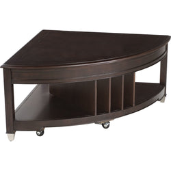 Darien Coffee Table - Burnt Umber