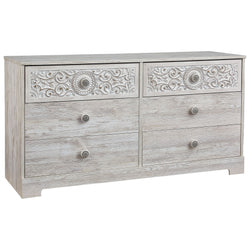 Paxberry Dresser - Whitewash
