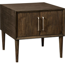 Kisper End Table - Dark Brown