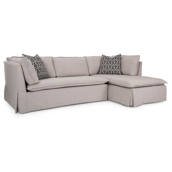 Georgia 2 Piece Sectional - Sand