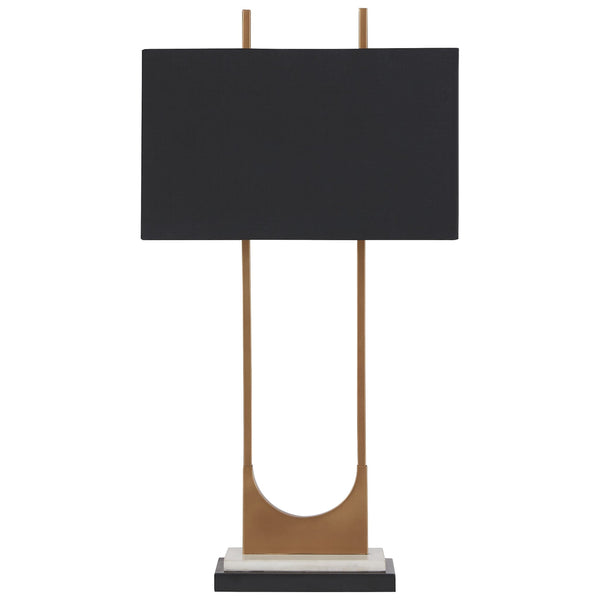 Malana Table Lamp - Brass Finish