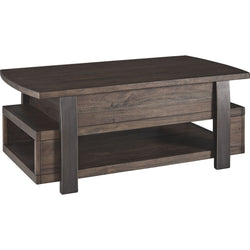 Vailbry Coffee Table - Brown