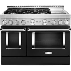 KitchenAid Gas Range - Black