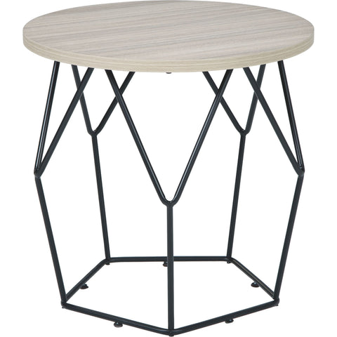 Spring Green End Table - Brown/Black