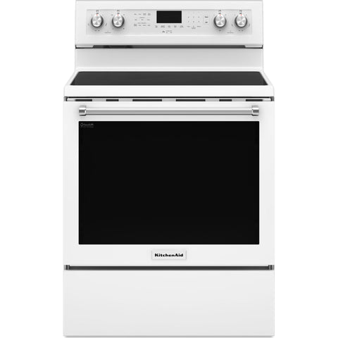 KitchenAid True Convection Range  - White