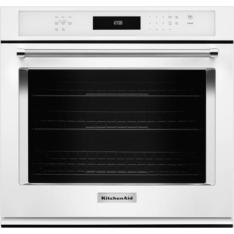 KitchenAid 30 Self Clean Wall Oven - White