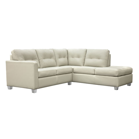 Lise  2 Piece Sectional - Grey