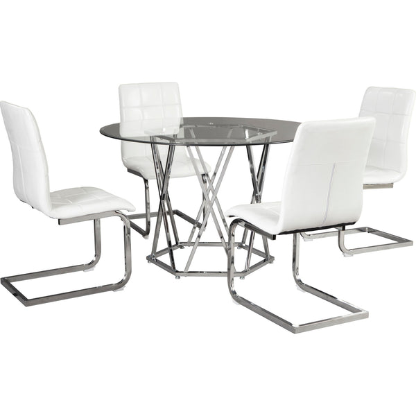 Madanere 5 Piece Casual Dining - White