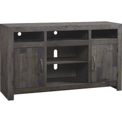 Mayflyn  Large TV Stand - Charcoal