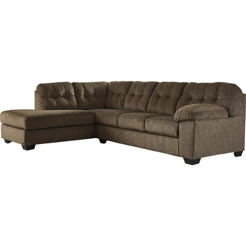 Accrington 2 Piece Sectional - Earth