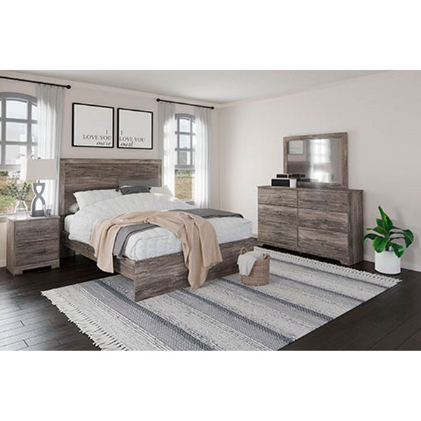Ralinksi 5 Piece King Bed - Gray