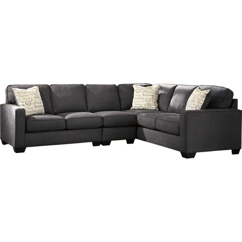 Sharon 3 Piece Sectional - Charcoal