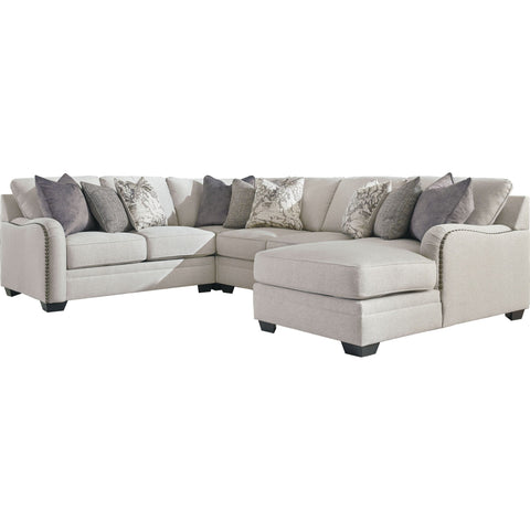 Ainsley 4 Piece Sectional - Chalk
