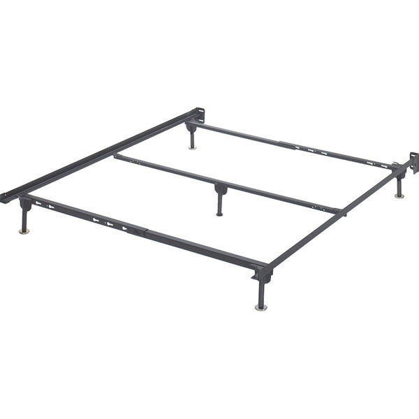 Day Bed Platform / Bed Frames / Bed Rails Queen Bolt on Bed Frame - Metallic