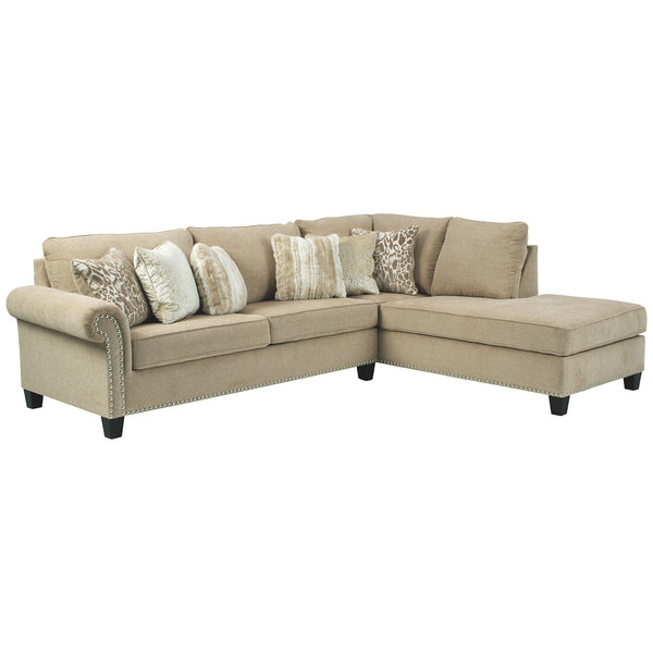Dovemont 2 Piece Sectional - Putty