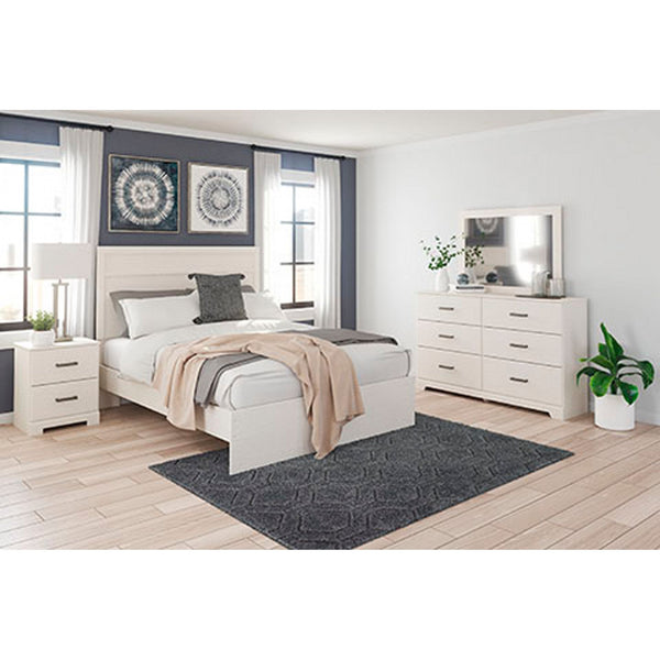Stelsie 5 Piece Full Bedroom - Gray