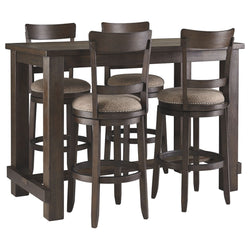 Gerridan  5 Piece Dining Room - Brown