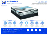 Sealy Marvelous Proback Europillowtop Firm Mattress Set