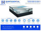 Sealy Quintessential Proback Lux Eurotop Firm Mattress Set