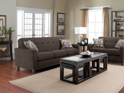 Ottawa Pewter Love Seat