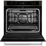 KitchenAid 30 True Convection Wall Oven - Black Stainless