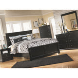 Maribel 3 Piece Queen Bed - Black