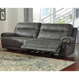 Austere Reclining Sofa - Grey