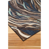 Jochebed Area Rug - Blue/Brown