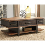 Stanah Coffee Table - Two Tone