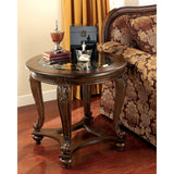 Norcastle End Table - Dark Brown
