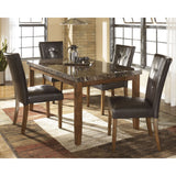 Lacey 5 Piece Casual Dining - Dark Brown