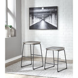 Naples Bar Stool - Gray/Black