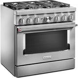 KitchenAid Dual Fuel Range - Stainless Steel