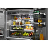 KitchenAid 5 Door Fridge - Stainless