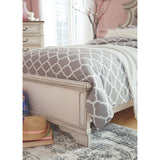 Realyn 3 Piece Queen Bed - White