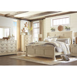 Bolanburg 3 Piece King Louvered Bed - White
