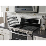 Whirlpool Dual Oven Range - Stainless Steel