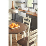 Woodanville 5 Piece Casual Dining - Two Tone